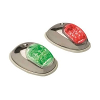 Svetlo bočno LED inox