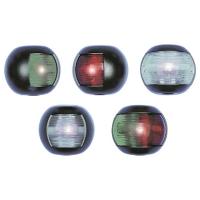 Svetlo MINI PVC ovalno crno