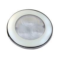 Svetlo LED FLUSH round inox