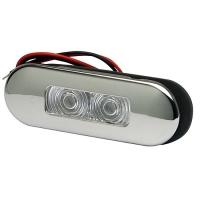 Svetlo LED FLUSH inox