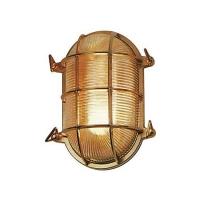 Ovalna lampa mesing