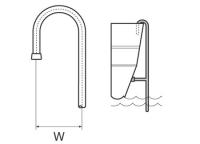 Čep za kraj merdevina PVC